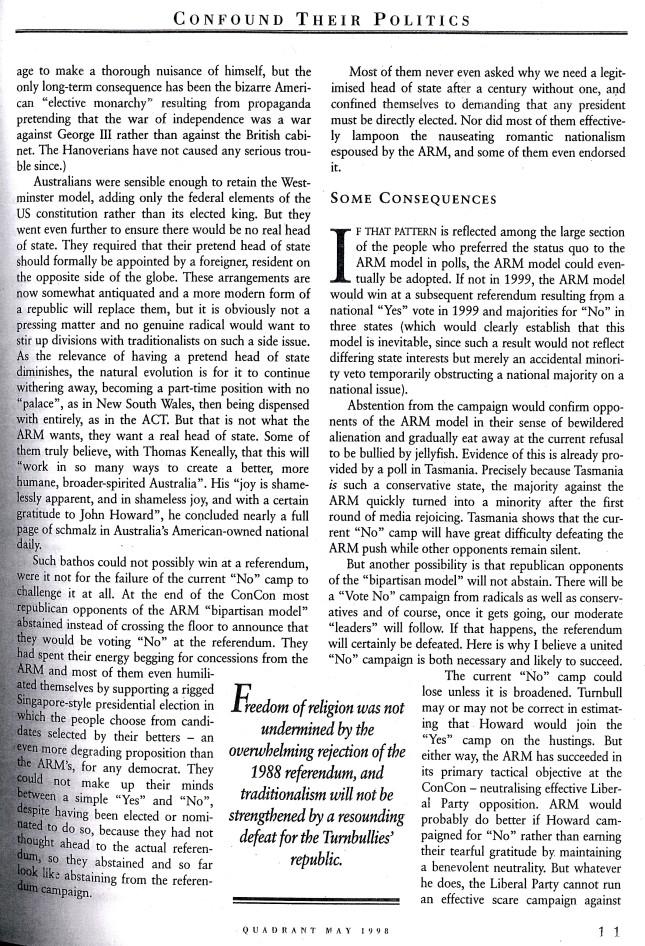 Albert Langer Confound their politics Quadrant May 1998_2