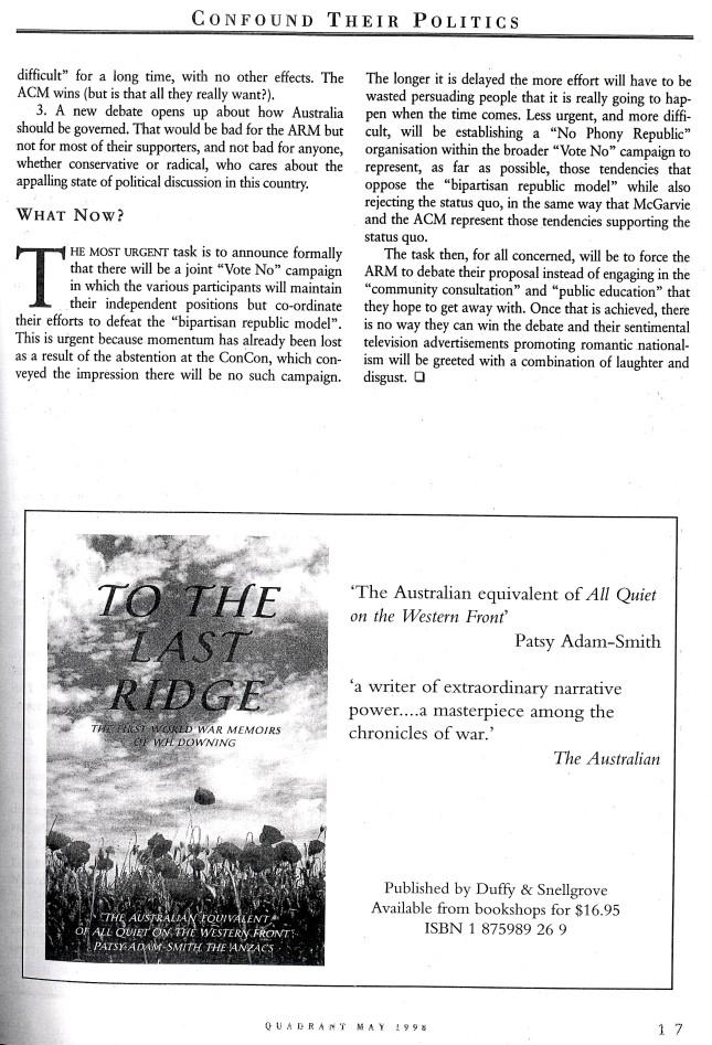 Albert Langer Confound their politics Quadrant May 1998_8
