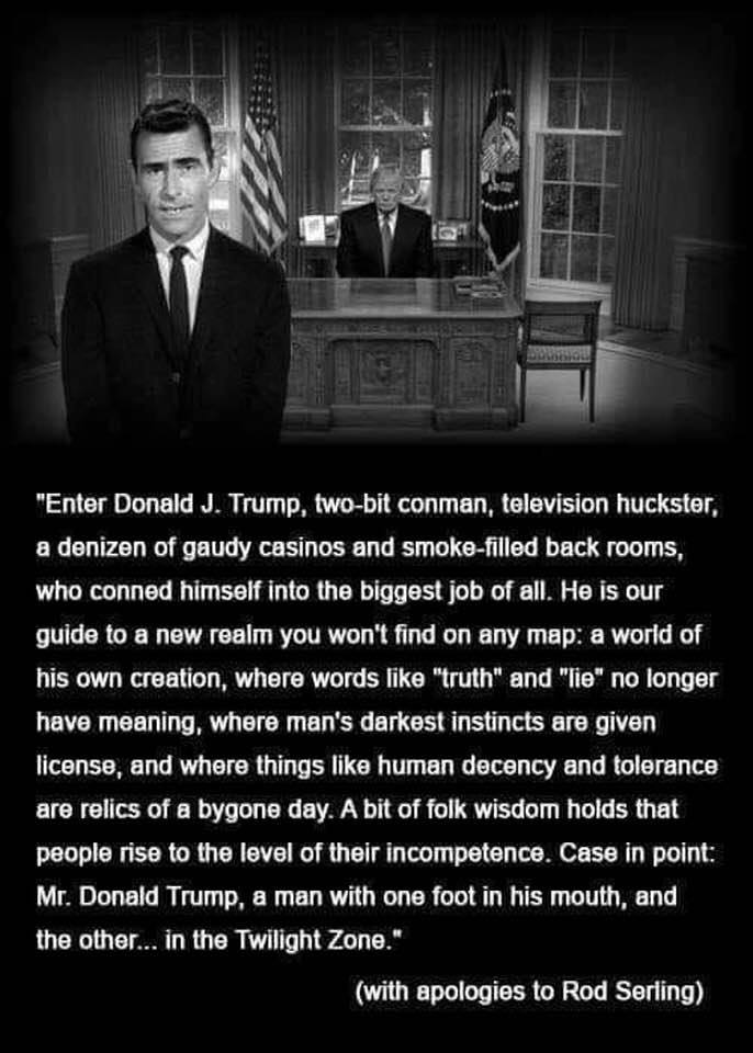 Serling on Trump meme